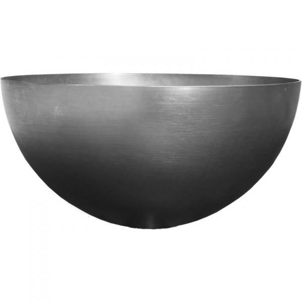 Halbkugel Stahl